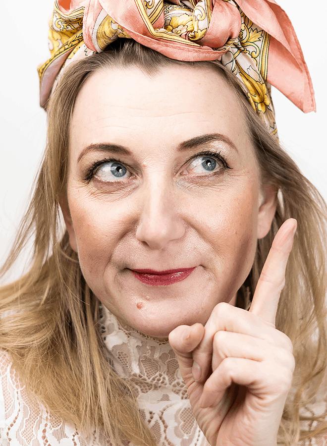 Comedian Elina Du Rietz